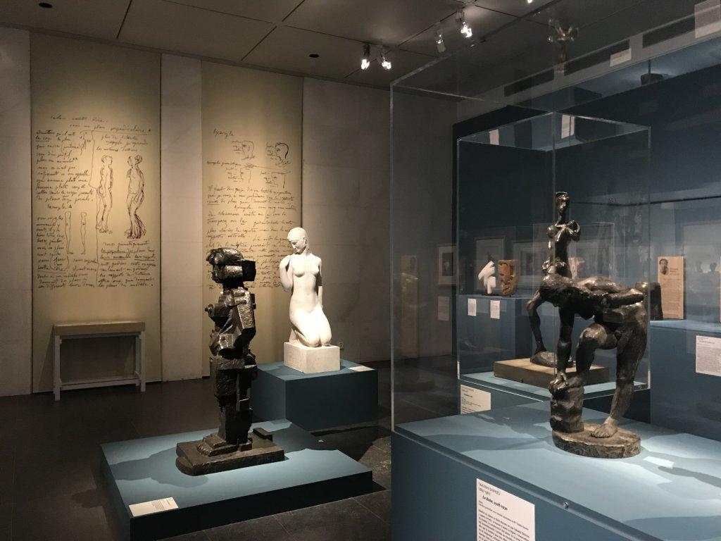 Vue de l'exposition Transmission, Transgression - Musée Bourdelle (25)