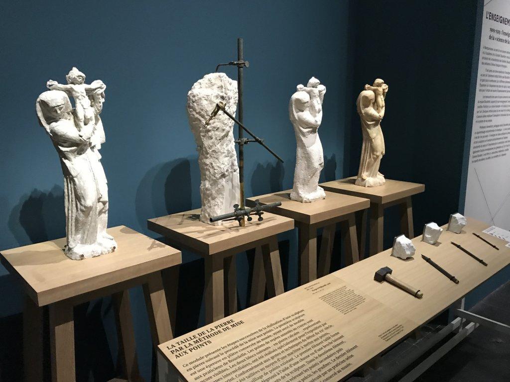 Vue de l'exposition Transmission, Transgression - Musée Bourdelle (31)