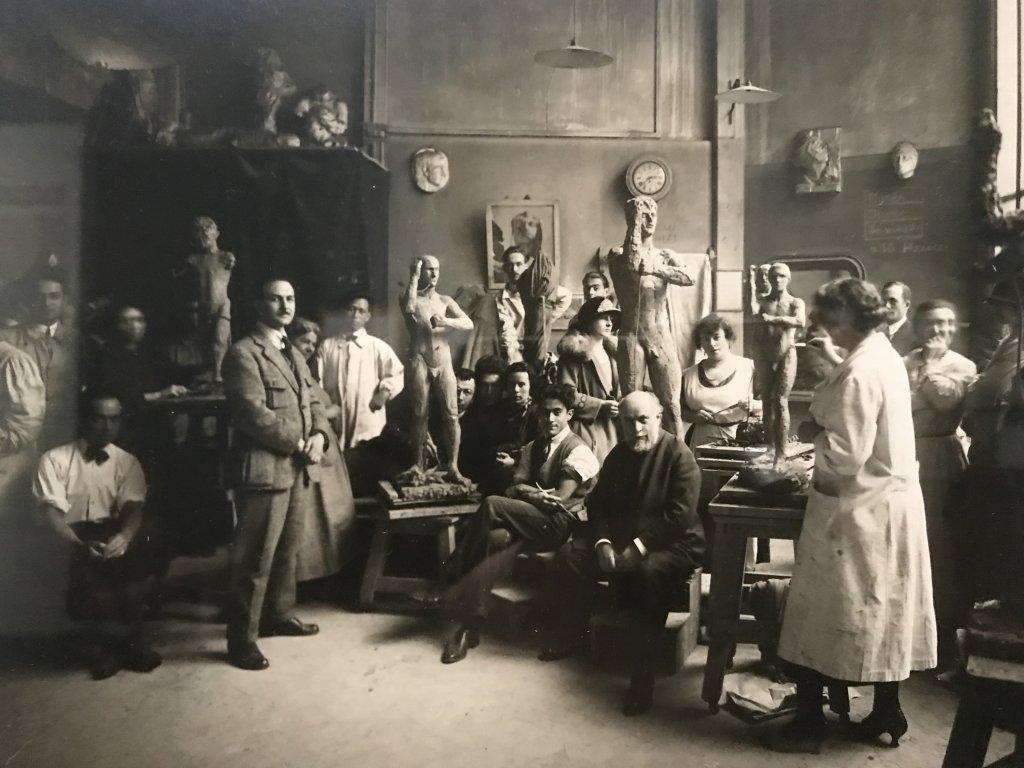 Vue de l'exposition Transmission, Transgression - Musée Bourdelle (33)