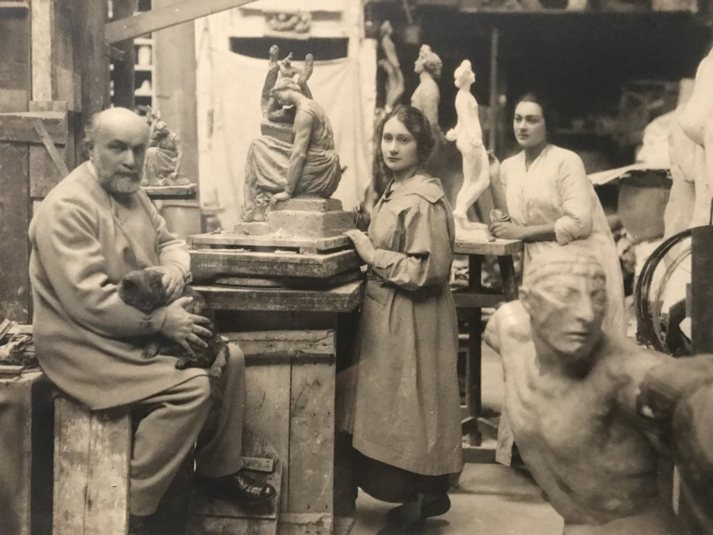 Vue de l'exposition Transmission, Transgression - Musée Bourdelle (34)