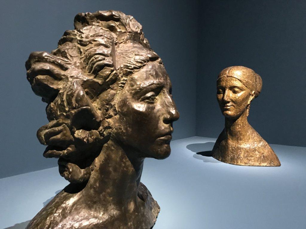 Vue de l'exposition Transmission, Transgression - Musée Bourdelle (38)