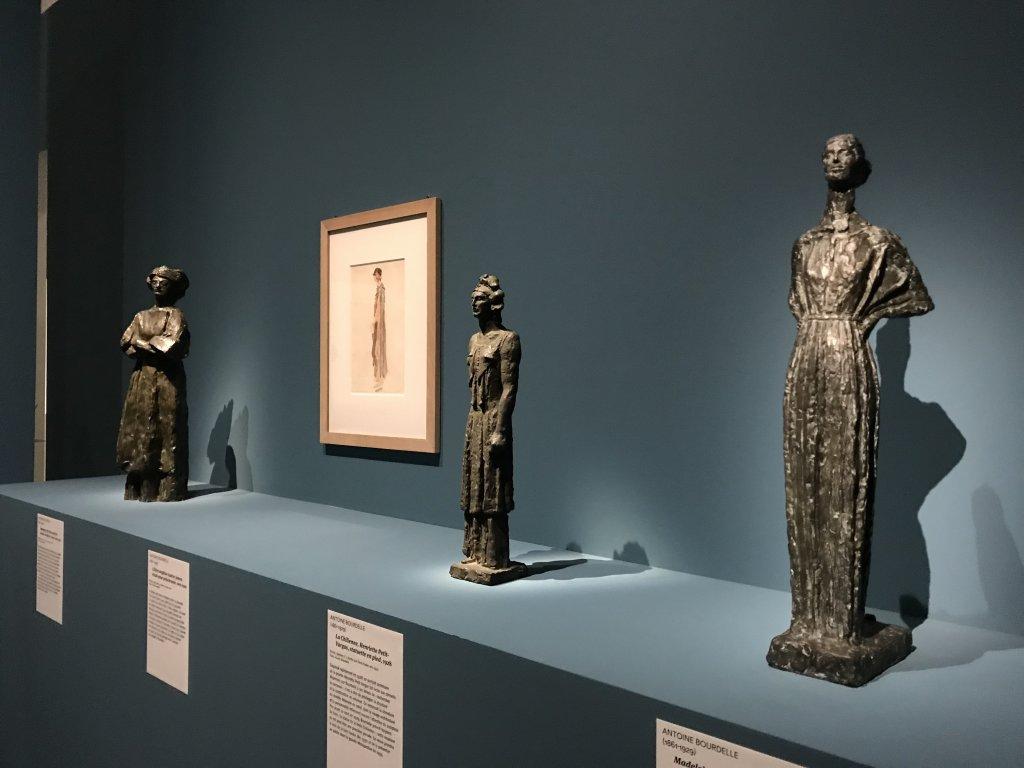 Vue de l'exposition Transmission, Transgression - Musée Bourdelle (39)