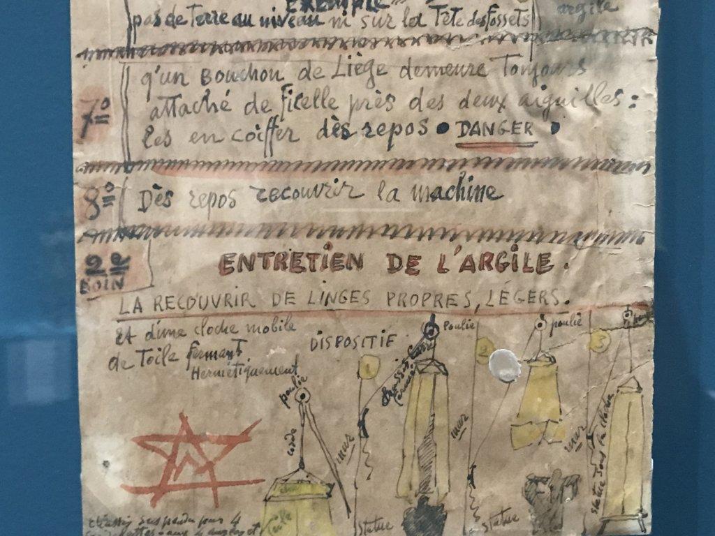 Vue de l'exposition Transmission, Transgression - Musée Bourdelle (43)