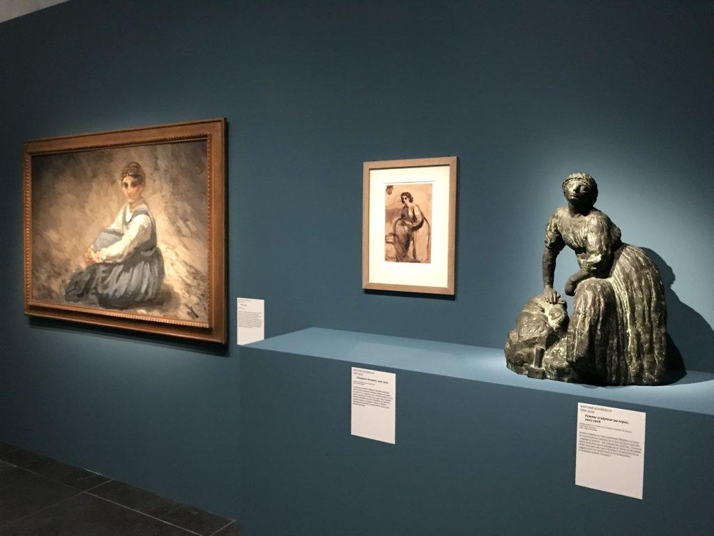 Vue de l'exposition Transmission, Transgression - Musée Bourdelle (46)