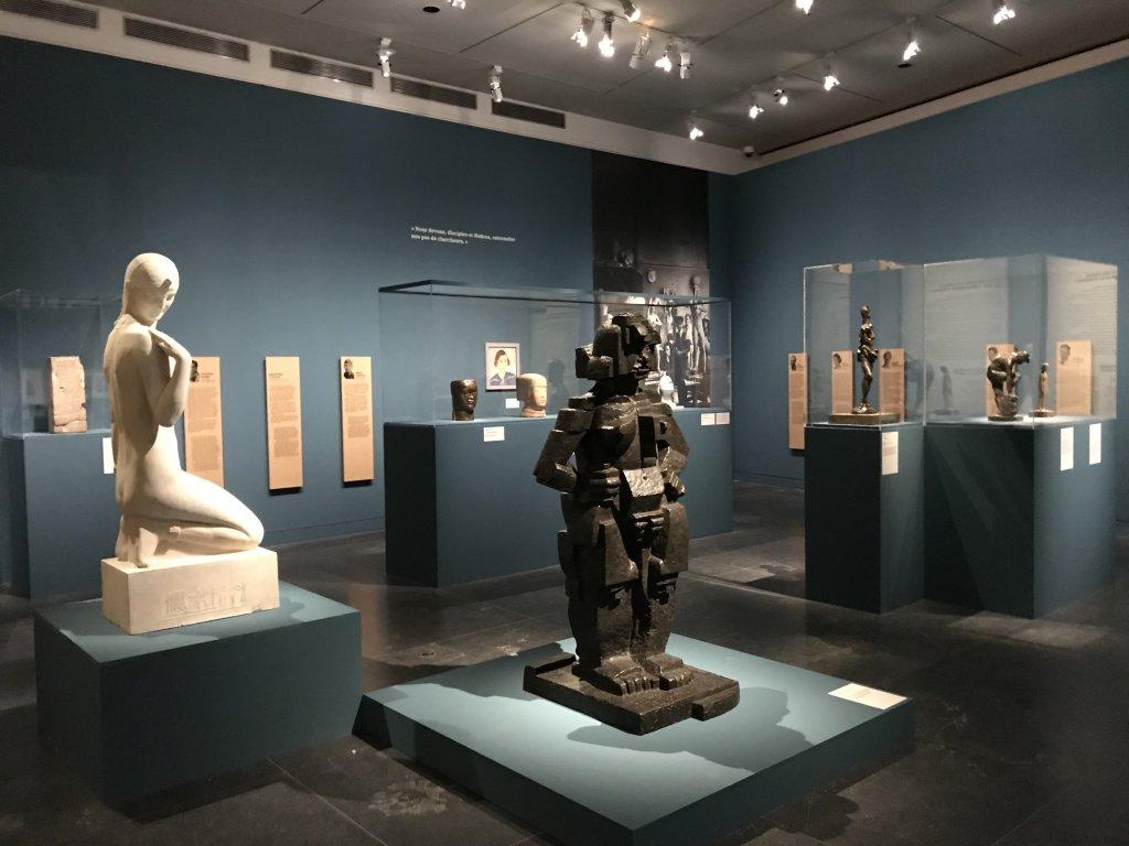 Vue de l'exposition Transmission, Transgression - Musée Bourdelle (48)