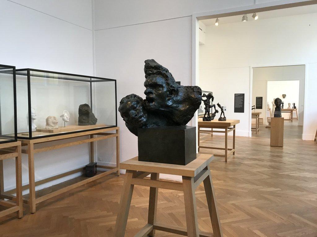 Vue de l'exposition Transmission, Transgression - Musée Bourdelle (54)