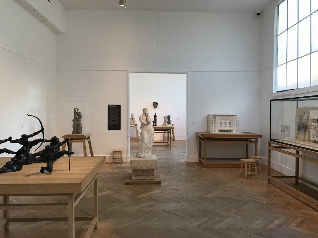 Vue de l'exposition Transmission, Transgression - Musée Bourdelle (56)