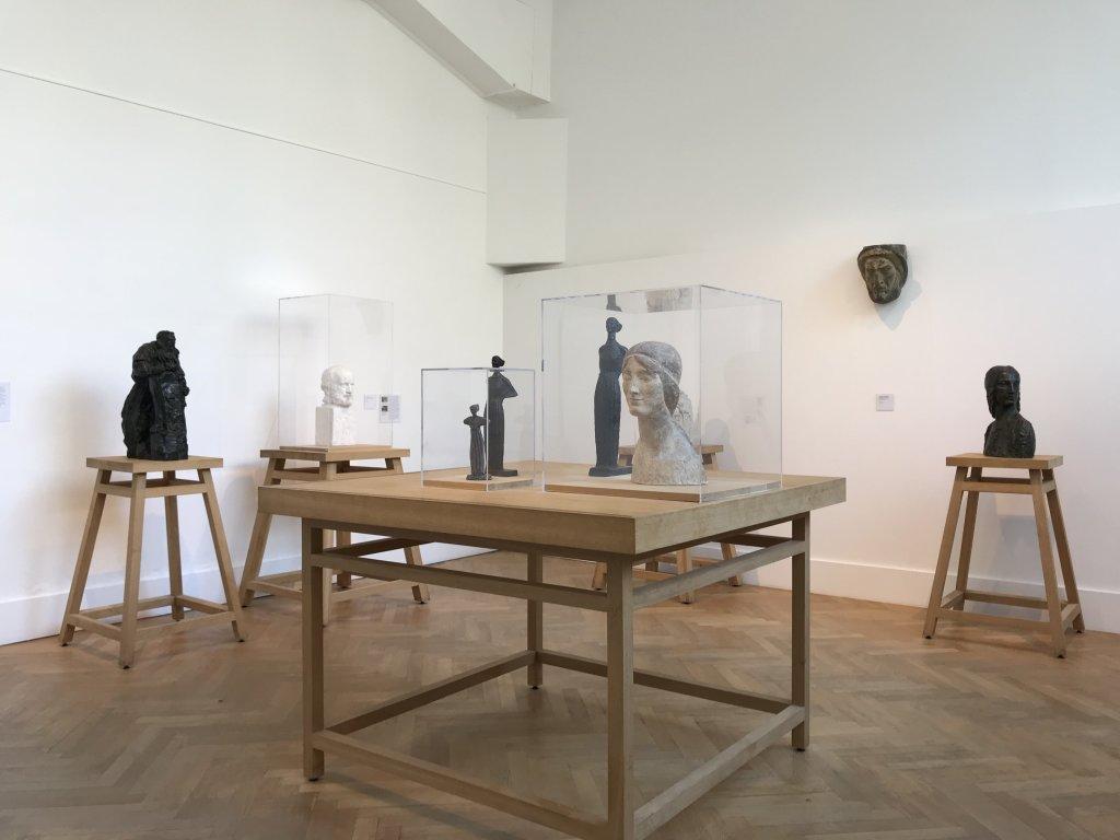 Vue de l'exposition Transmission, Transgression - Musée Bourdelle (57)