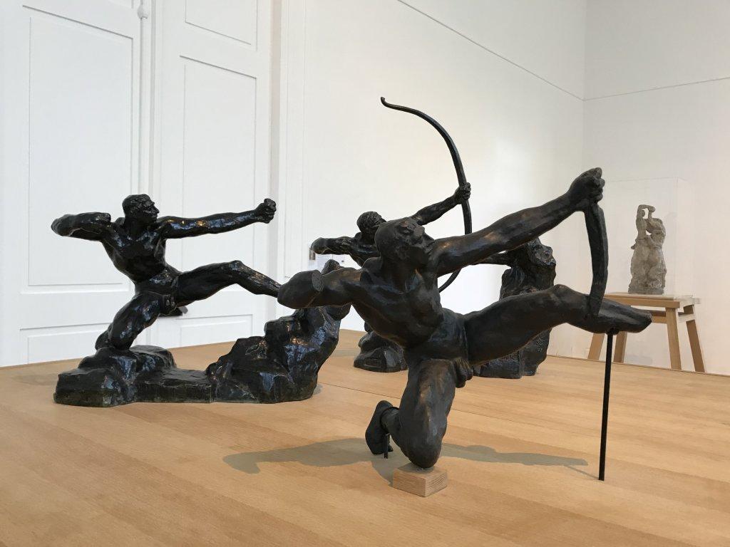 Vue de l'exposition Transmission, Transgression - Musée Bourdelle (58)