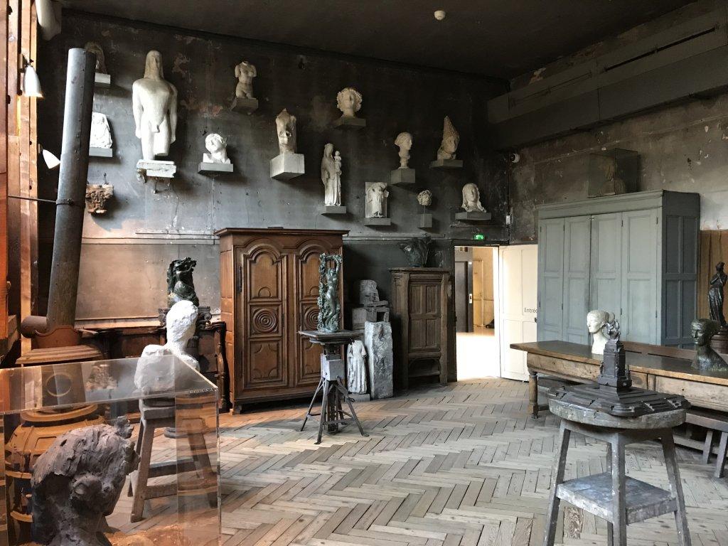 Vue de l'exposition Transmission, Transgression - Musée Bourdelle (62)