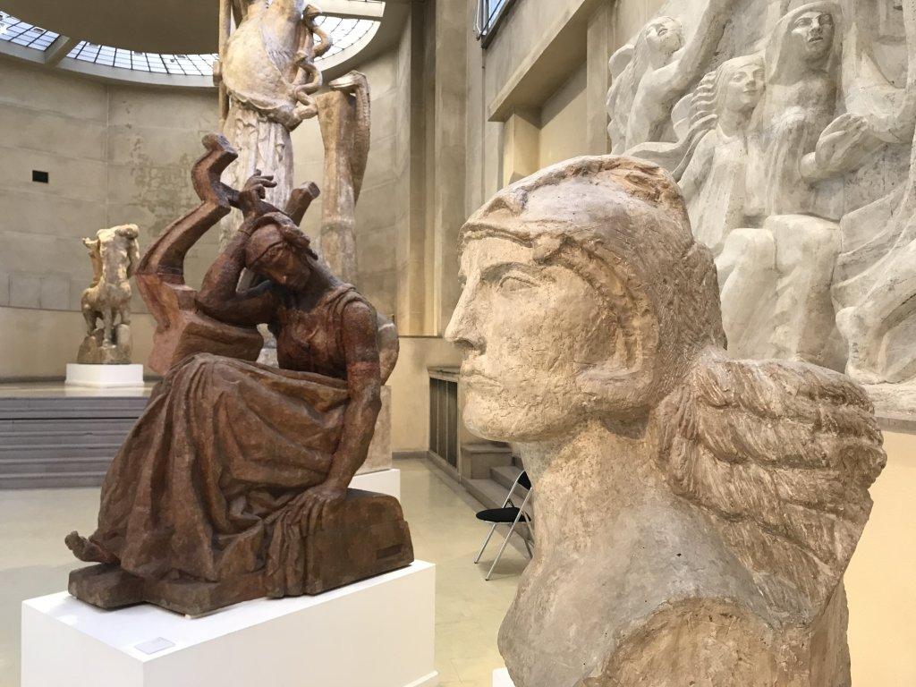 Vue de l'exposition Transmission, Transgression - Musée Bourdelle (64)