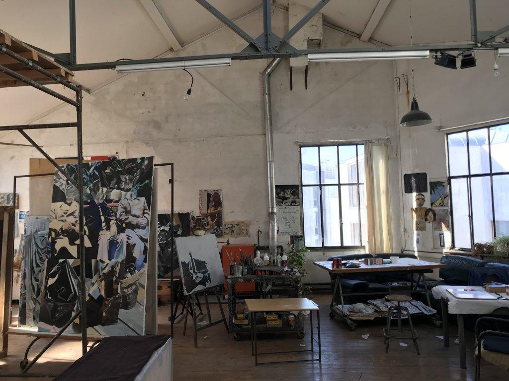 Vue des Ateliers de Ménilmontant - Portes ouvertes 2018