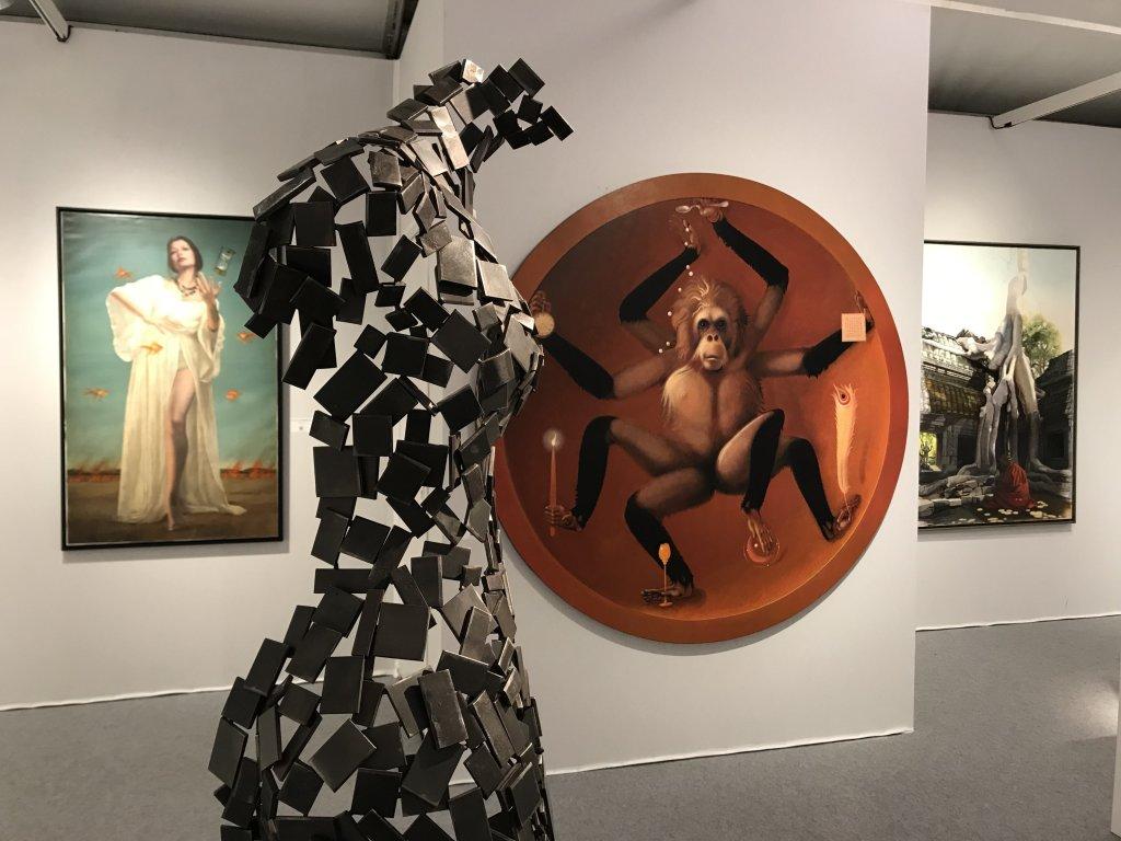 Vue du Salon d'Automne 2018 - Champs-Elysées (75)