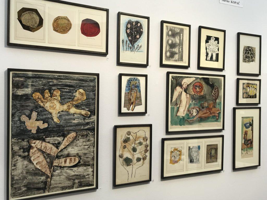 Vue du salon Outsider Art Fair 2018, à l'Atelier Richelieu (17)