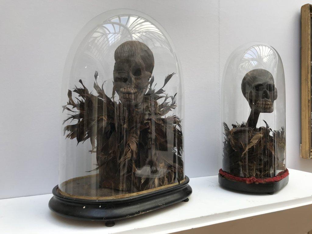 Vue du salon Outsider Art Fair 2018, à l'Atelier Richelieu (3)