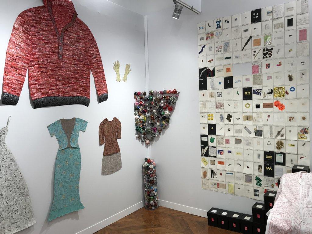 Vue du salon Outsider Art Fair 2018, à l'Atelier Richelieu (59)