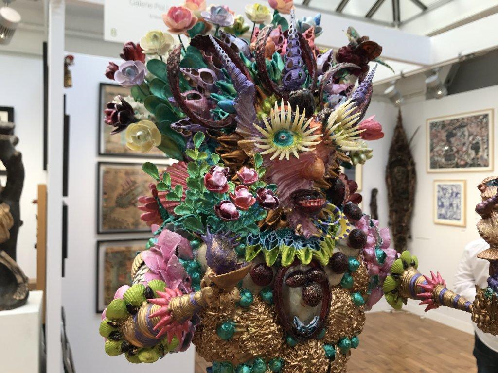Vue du salon Outsider Art Fair 2018, à l'Atelier Richelieu (6)