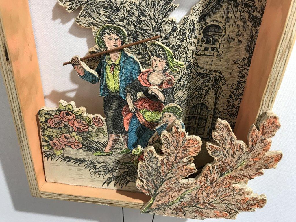 Vue du salon Outsider Art Fair 2018, à l'Atelier Richelieu (78)