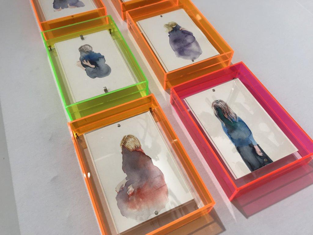 Vue du salon Outsider Art Fair 2018, à l'Atelier Richelieu (83)