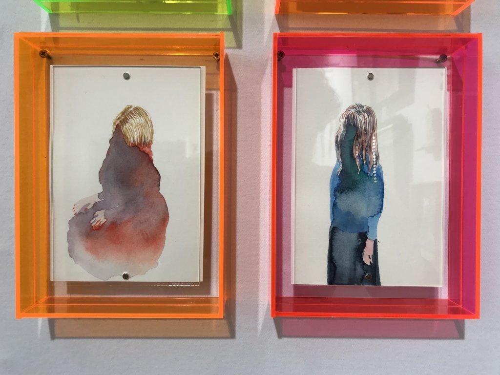 Vue du salon Outsider Art Fair 2018, à l'Atelier Richelieu (84)