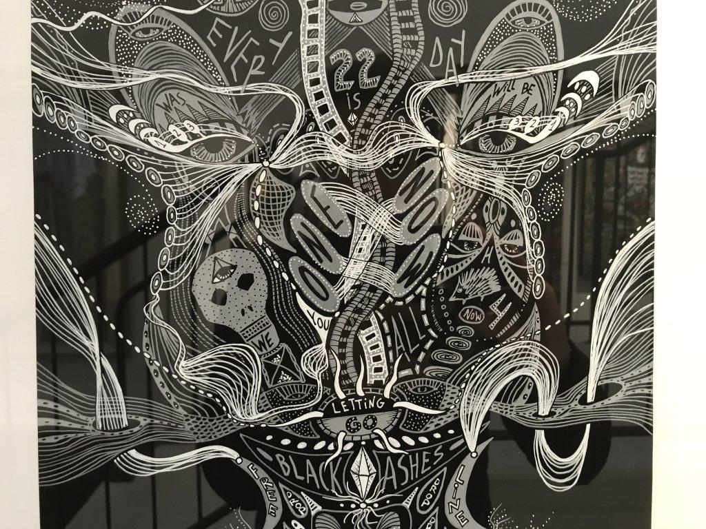 Vue du salon Outsider Art Fair 2018, à l'Atelier Richelieu (87)