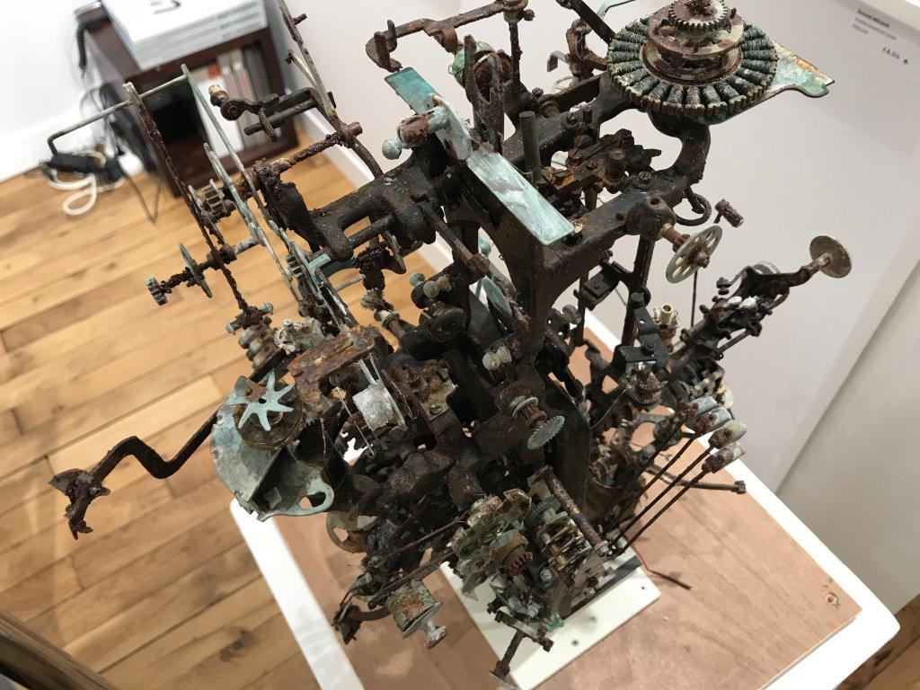 Vue du salon Outsider Art Fair 2018, à l'Atelier Richelieu (93)