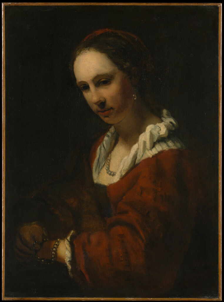 Willem Drost - Young Woman in a Pearl Necklace - MET (c)