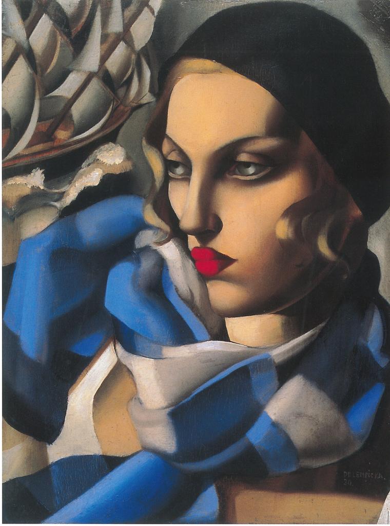 Tamara de Lempicka, Bailarina Rusa, 1924-25