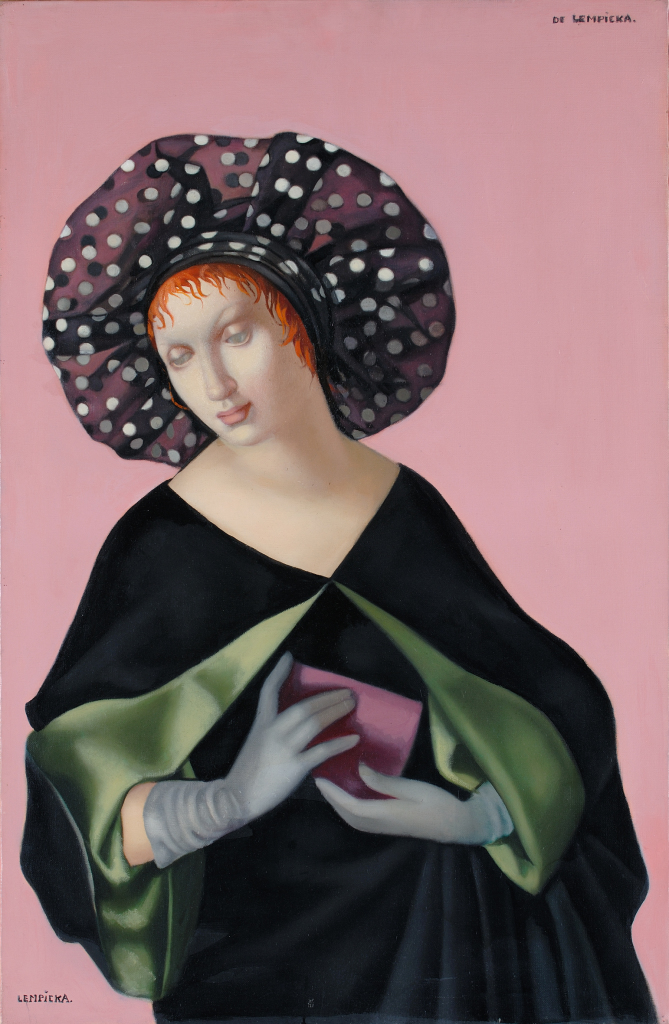 Tamara de Lempicka, La mujer con sombrero, 1952
