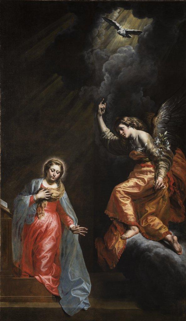 Théodore van Loon, L'Annonciation, Fabrique d'église Saint-Jean-Baptiste au Béguinage, Bruxelles