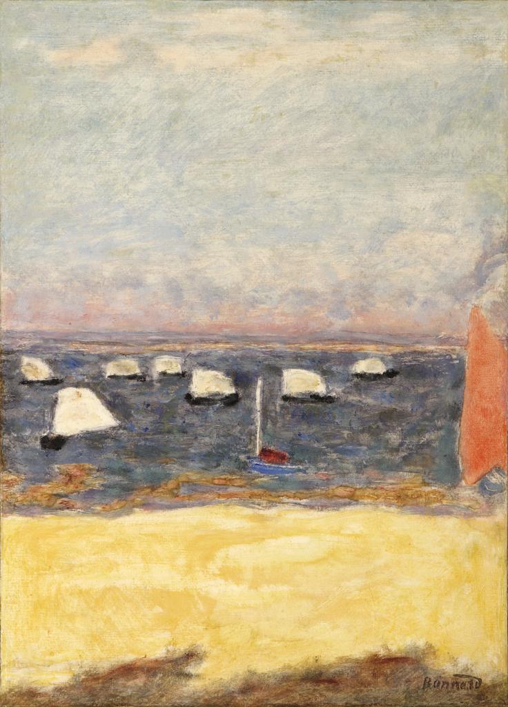 Pierre Bonnard, Les Voiliers, régates, Vers 1932