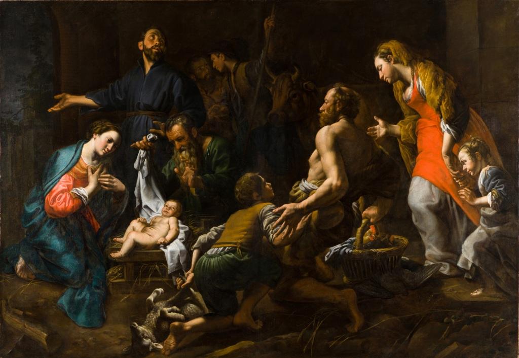 Théodore van Loon, L'Adoration des bergers, PARCUM – Heverlee, collection Abdij van Park