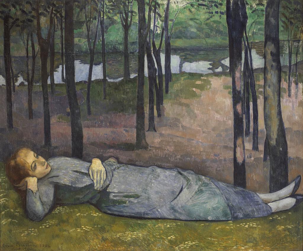 Émile Bernard, Madeleine au Bois d'Amour, 1888