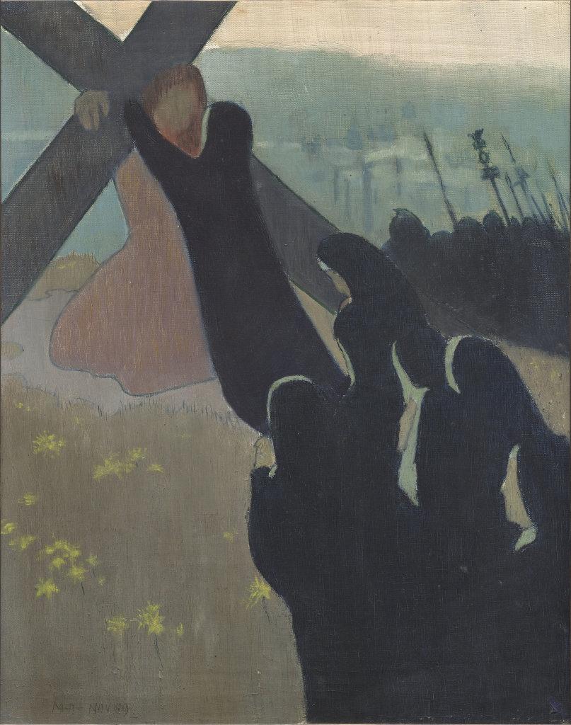 Maurice Denis, Le Calvaire ou Montée au calvaire, 1889