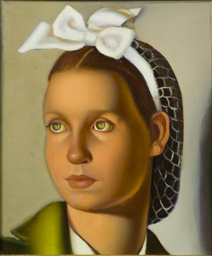 Tamara de Lempicka, Retrato de Louisanne, 1940
