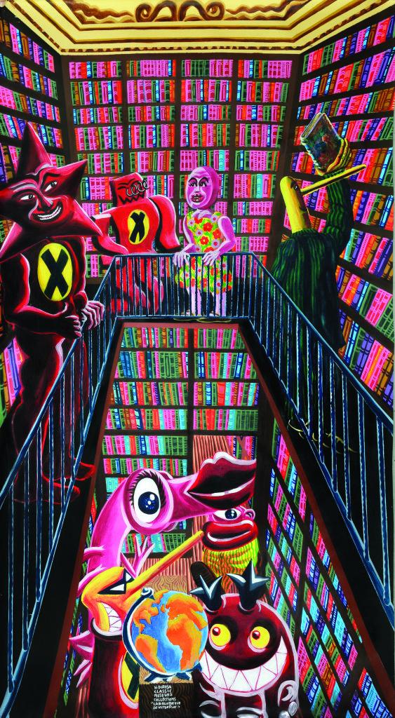 Hervé Di Rosa, Bibliothèque de Victor Plat, 2017