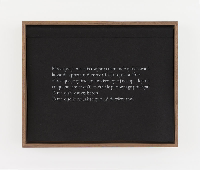 ©  Sophie  Calle  /  ADAGP,  Paris  2018