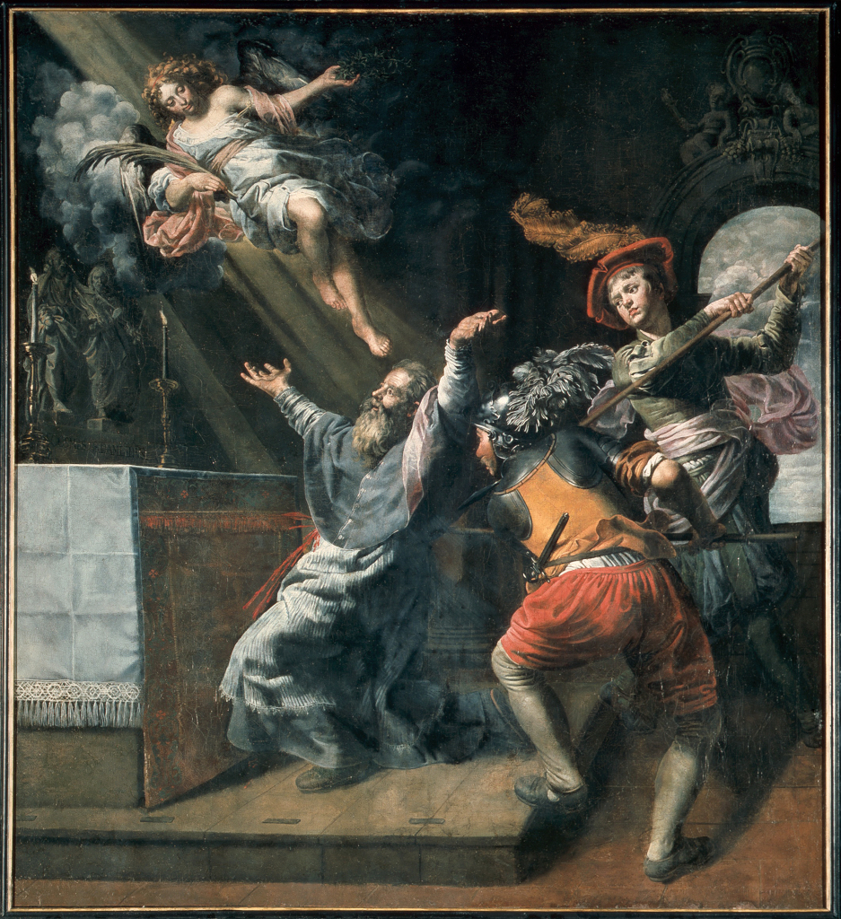 Théodore van Loon, Le Martyre de saint Lambert, ca. 1616-1617