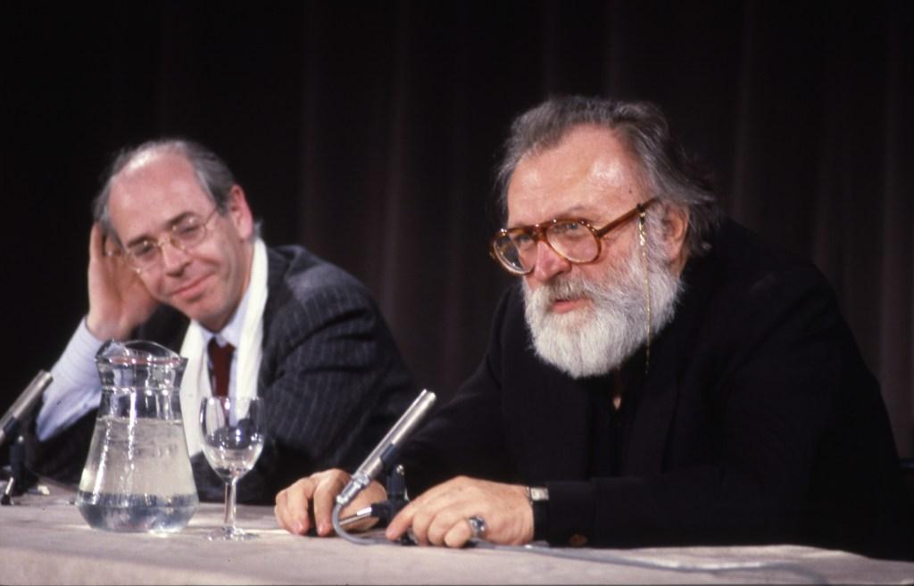 Master class de Sergio Leone à La Cinémathèque française le 6 mai 1986. Animée par Noël Simsolo.