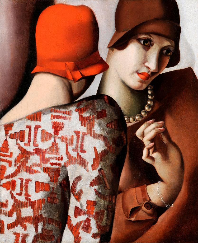 Tamara de Lempicka, Las dos amigas - Confidencias, 1928