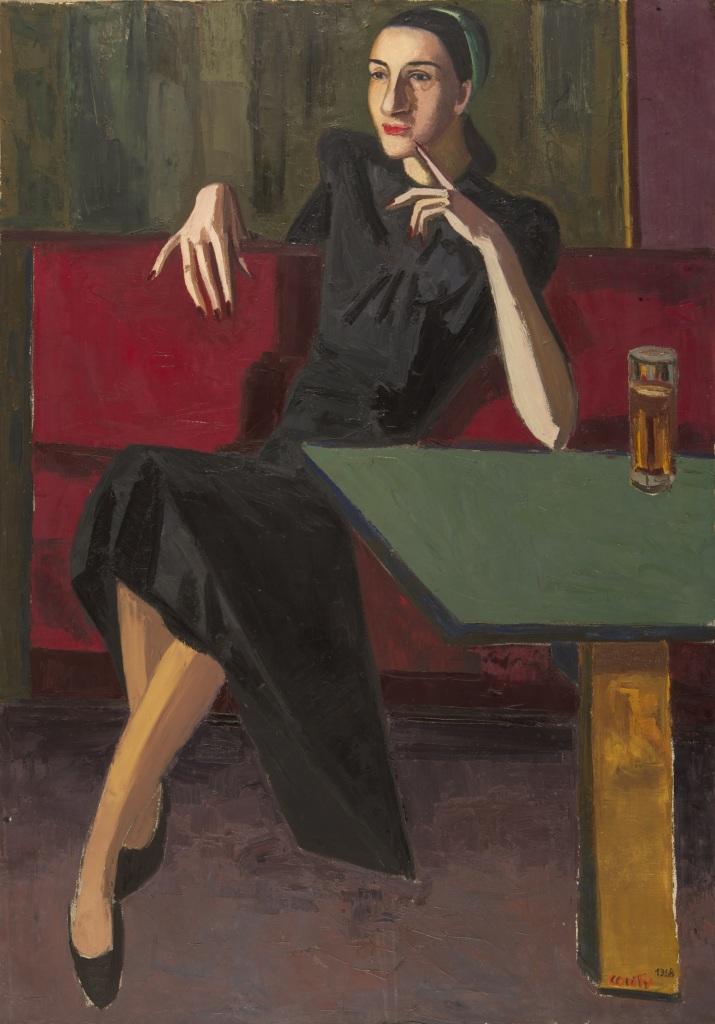 Jean Couty, Portrait de Christiane, 1948