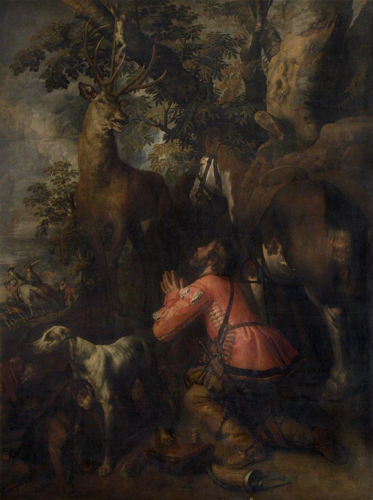 Théodore van Loon, La Conversion de saint Hubert