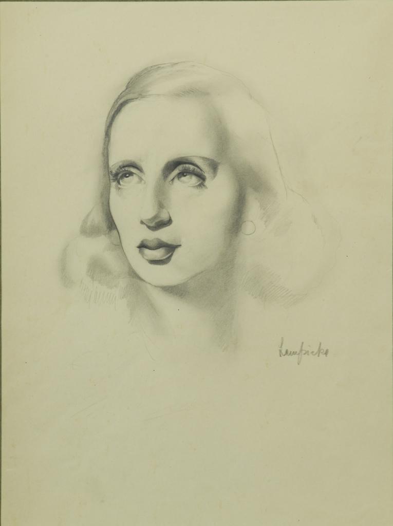 Tamara de Lempicka, Autorretrato, 1939