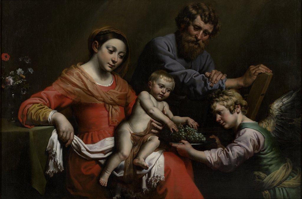 Théodore van Loon, La Sainte Famille, M – Museum Leuven
