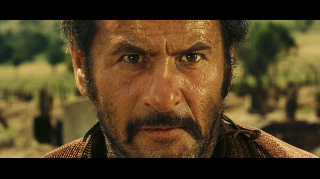 Eli Wallach le tournage du Bon, la Brute et le Truandde Sergio Leone, 1966