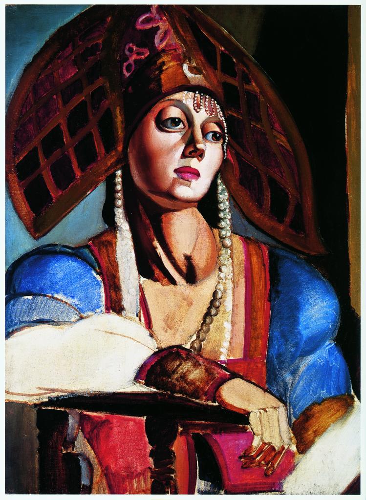 Tamara de Lempicka, Bailarina rusa, 1924-1925