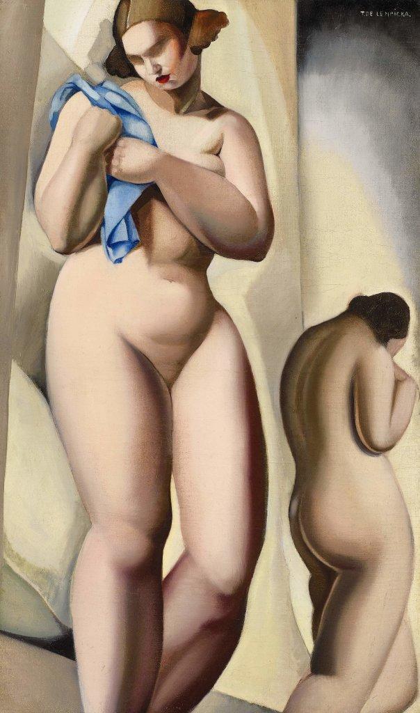 Tamara de Lempicka, Dos desnudos en perspectiva, 1925