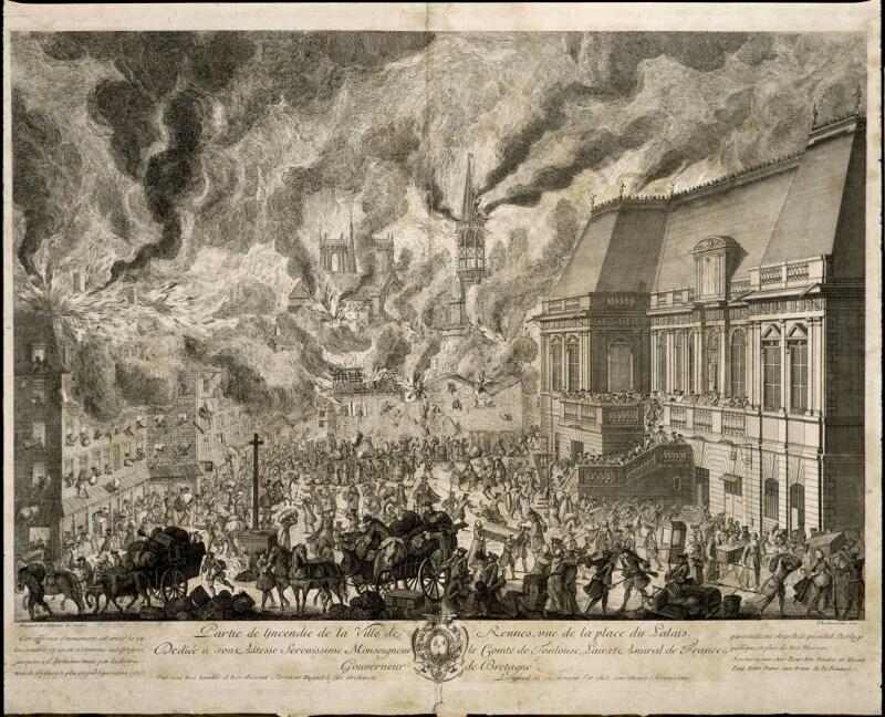 Rennes qui brûle