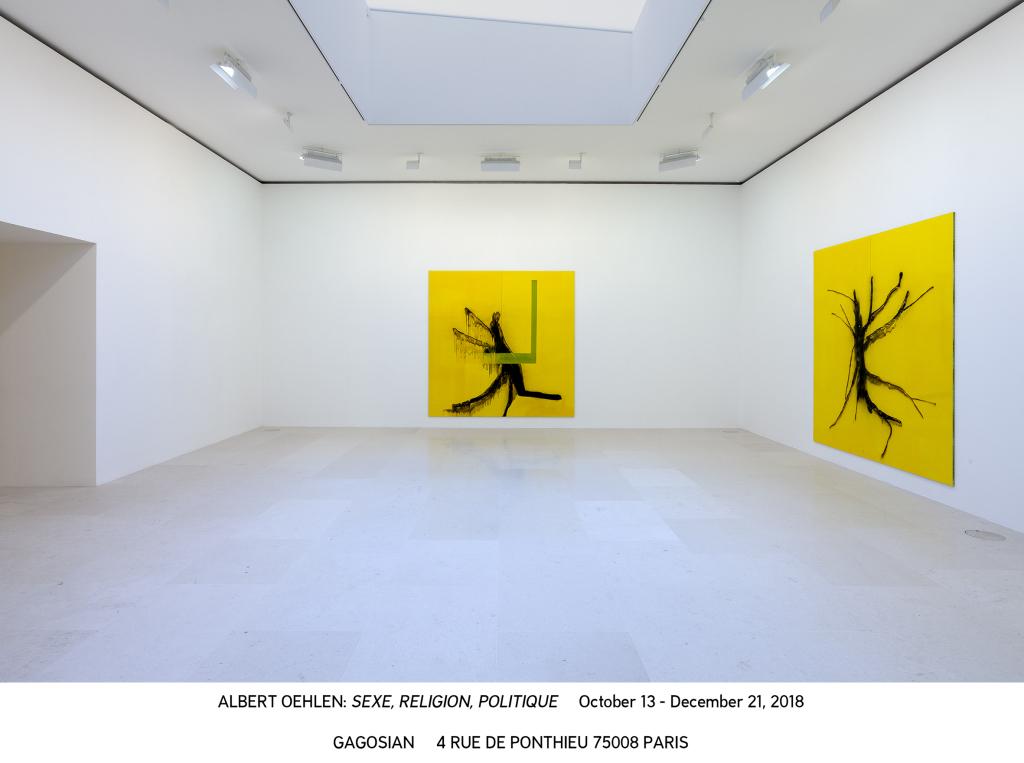 Albert Oehlen Paris 2018