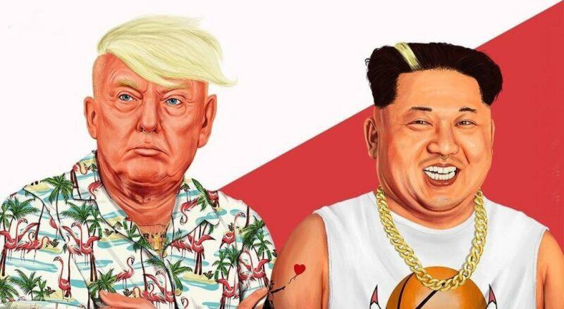 Amit Shimoni, Trump and Kim Jung Un (2018). © HIPSTORY @hipstory_shimoni